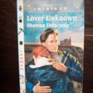 Lover Unknown by Shawna Delacorte Harlequin Intrigue Romance Book #413 April 1997 0-373-22413-3