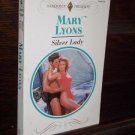 Silver Lady by Mary Lyons Harlequin Presents Paperback Romance Book Series #1610 December 1992