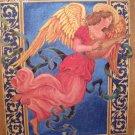 "1997 500 Piece Frazer Company Golden Books Ornate Victorian Angel 15 1/2"" x 18"" Interlocking Puzzle"