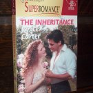 The Inheritance by Janice Carter Harlequin Super Romance Paperback Novel Book #887