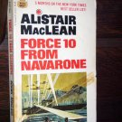 Force 10 From Navarone Alistair MacLean First Fawcett Crest Printing November 1969 Paperback War Boo