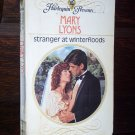 Stranger at Winterfloods by Mary Lyons Harlequin Presents Romance Novel Paperback Book Series #1144