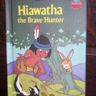 Walt Disney Productions Presents Hiawatha the Brave Hunter Children's Collectable Book 1985 ISBN 0-3