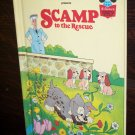 Walt Disney Productions Presents Scamp To the Rescue Children's Collectable Book 1980 ISBN 0-394-847