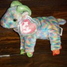 2000 Zodiac Goat Mint Ty Beanie Baby with Tag Protector MWMT 8-19-00 Retired 05-17-01 New