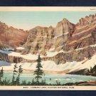 4005 Iceberg Lake Glacier National Park 5A-H220 C T Art Colortone Vintage Unused Linen Postcard