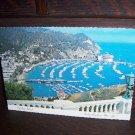 Catalina Island Avalon Bay From Mt. Ada Long Beach California 1980 Photo Postcard Sent to Silvio Mar