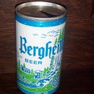 Bergheim Brewery Philadelphia Pa Cleveland Oh 12 oz Steel Pull Tab Top Opened Vintage Beer Can