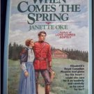 When Comes The Spring Janette Oke Inspirational Christian Romance Paperback Book
