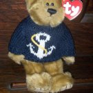 1993 The Attic Treasures Collection Salty Bear Anchors Away Ty Beanie