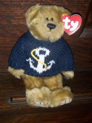 1993 The Attic Treasures Collection Salty Bear Anchors Away Ty Beanie f5b02fddd48