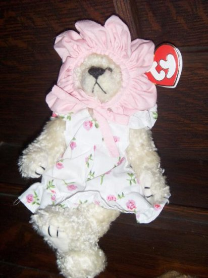 1993 The Attic Treasures Collection Rosalie Bear A Rose By