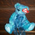 1993 The Attic Treasures Collection Azure Bear I'm Blue Without You Ty Beanie Baby