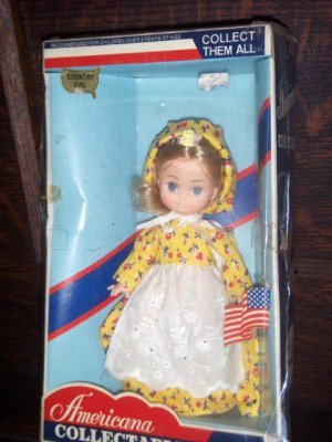 Eugene Americana Collectable Country Girl Collectable Vintage Doll