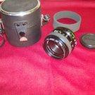 Vintage VIVITAR  UV HAZE 49 mm 55 mm 1 2 8 Camera AUTO LENS No. 97201257