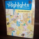Highlights for Children December 1998 Index Fun with a Purpose Educational Magazine