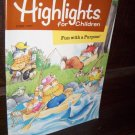 Highlights for Children June 1997 Fun with Purpose Volume 52 Issue 548 Educational Magazine