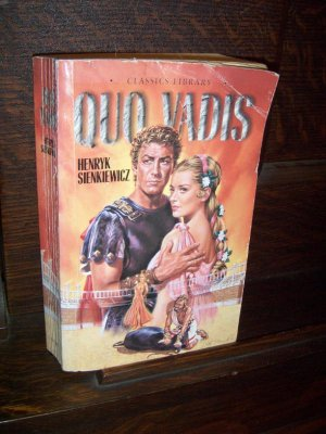 Quo Vadis by Henryk Sienkiewicz Classic Library Barbour Paperback Fiction Book