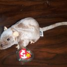 1999 Tiptoe the Mouse Ty Beanie Babies mwmt tag protector 5th/7th Generation Retired