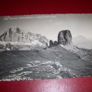 Vintage Photo Postcard Club Alpino Italian Group Tofane and Five Towers Landscape Red 3 Lire Stamp