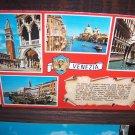 International Venezia St Marks Basin Milano Dep Natural Colors Ven 203 Vintage Chrome Postcard