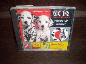 1997 Walt Disney's 101 Dalmations Picture CD 3 Song Music Sampler