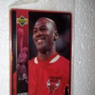 1996 Michael Jordan Upper Deck Metal Chicago Bulls Basketball Card No 5