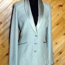 St John Evening Tranquil Satin Jacket Blazer 8 NWT