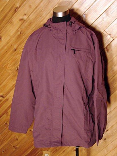 Eddie Bauer Purple Walking Jacket XXL NWT