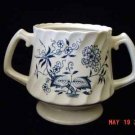 Blue Fjord Old Staffordshire Bowl/ Flower Holder