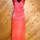City Triangles Coral Gltr Evening Prom Dress Prom L NWT