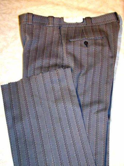 Retro Silver Gulf Stream Self Sizer Pants 34 NWT