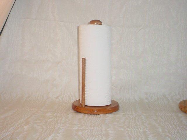 Wooden Tissue Holder Natural Large