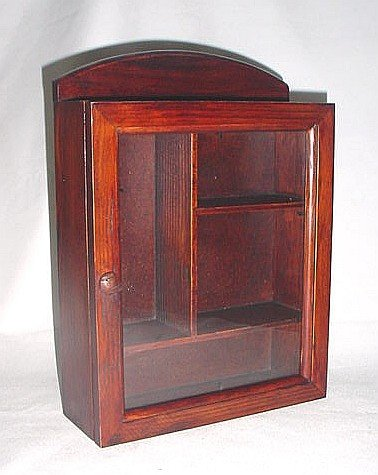 Medicine Cabinet Small Classic Brown