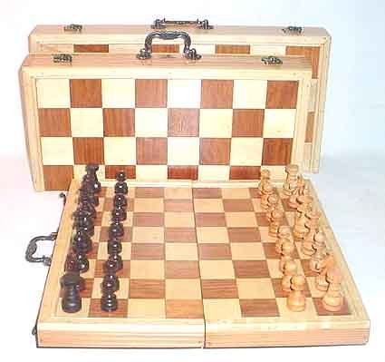 Classic Wooden Chess Set  Tournament Edition