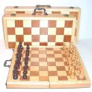 Classic Wooden Chess Set  Medium 17in. x 9in. x 3in.