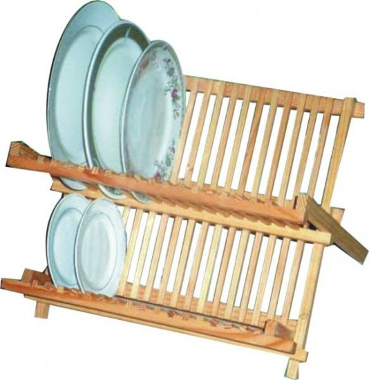 Wooden Dish Drainer Large
