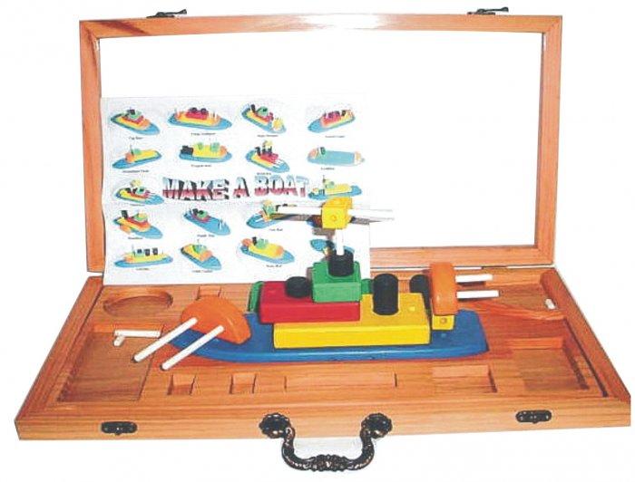 Wooden Make - a -Boat