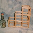 Wooden Foldable Wine Rack / 6 Racks