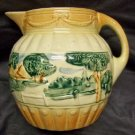 Roseville Pottery Landscape Pitcher