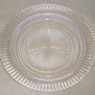 Queen Mary Depression Glass Dinner Plate