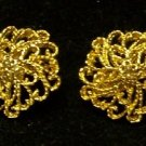 "Monet 1"" Vintage Earrings Clip-on's"