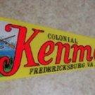 Vintage Felt Pennant,  Colonial Kenmore