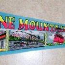 Vintage Felt Pennant  Stone Mountain, GA.