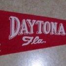 Vintage Felt Pennant   Daytona Beach
