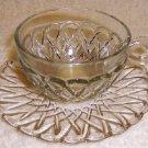 Pretezel  Cup and Saucer   cir. 1930's