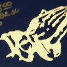 Praying Hands     Gold