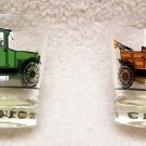 Antique Car Whiskey Glass