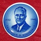 Royal Copenhagen Franklin D. Roosevelt Mini Plate