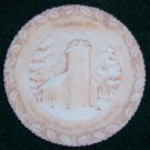 Fenton 1970 Christmas Plate  Number One